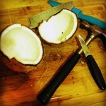 Coconut Milk Step 1