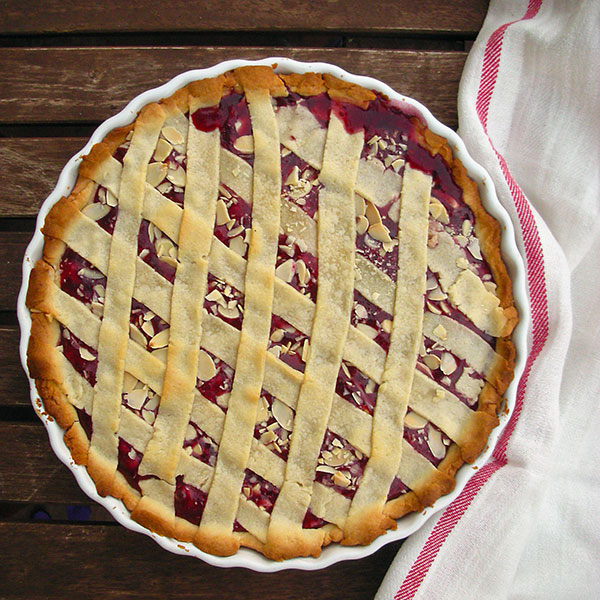 Almond Raspberry Crostata