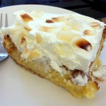 Tres Leches Coconut Cake