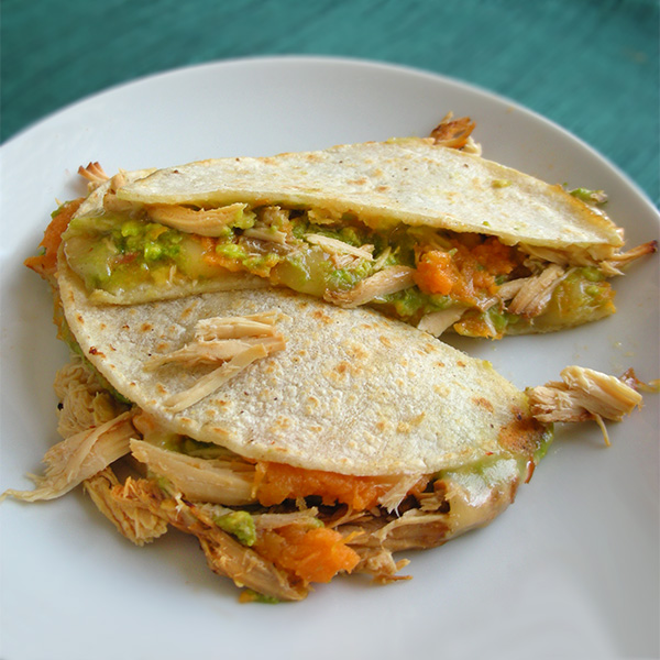 Avocado Quesadillas Recipe — Dishmaps