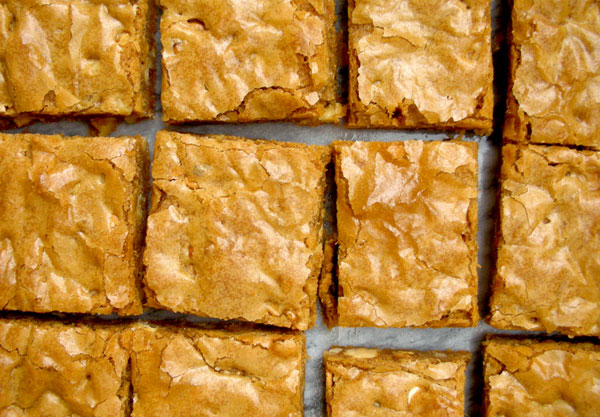 Browned Butter White Chocolate Peanut Butter Blondies ...