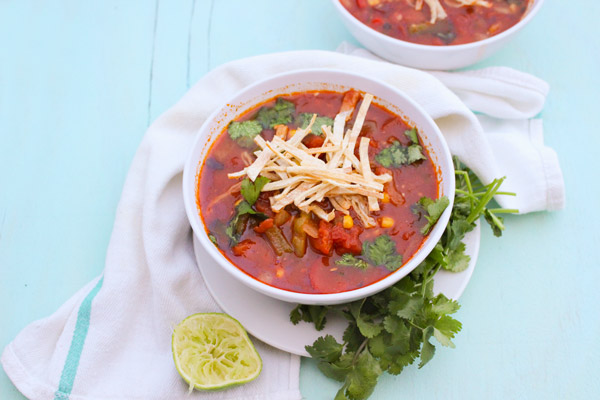 Chipotle Chicken Tortilla Soup